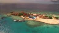 LOW AERIAL, Holiday resort on Palm Island, Aruba