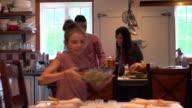 Holiday Season Family Group Diner
