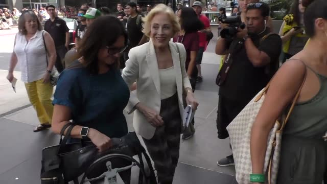 Holland Taylor at Celebrity Sightings at San Diego ComicCon International on July 22 2017 in San Diego California