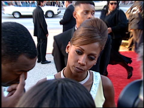 Holly Robinson at the NAACP Image Awards at Pasadena Civic Auditorium in Pasadena California on April 6 1996