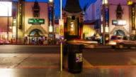 Hollywood Blvd Timelapse