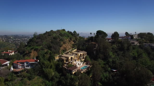 Hollywood Hills Aerial