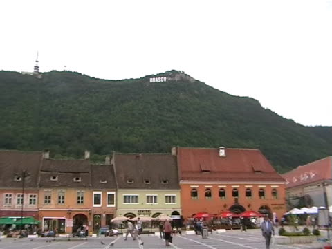 Hollywoodlike letters in Brasov, Romania