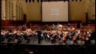 Royal Liverpool Philharmonic Orchestra performing 'Burleske' by Hans Gal ENGLAND Merseyside Liverpool Philharmonic Hall INT Royal Liverpool...