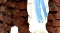 Heilige Maria Statue in Santa Cruz Kirche in Bangkok, Thailand