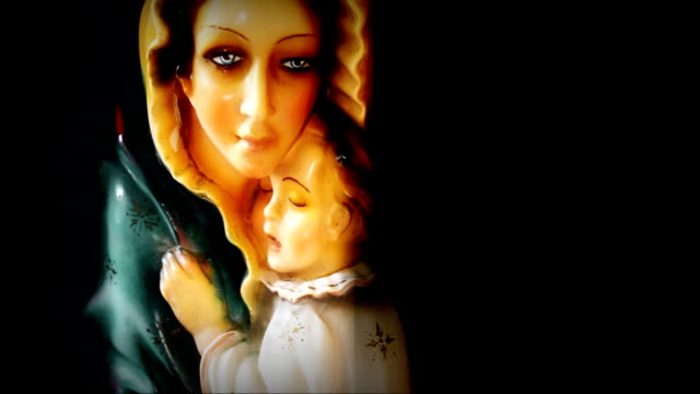 Holy Mary with Baby Jesus