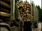 Wooden transport