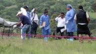 Hombres armados mataron al menos a 9 personas en la zona rural de Huehuetlan el Grande al centro de Mexico presumiblemente por una extorsion a...