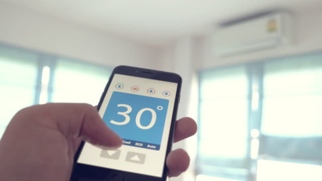 Home Automation and smart home technology - Adjusting temperature