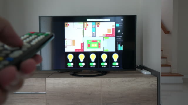 Home Automation and smart home technology - Lighting control