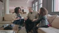 Home Healthcare Provider Visits Senior Couple WS
