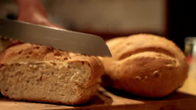 home made bread slice