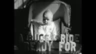 1931 Home Movie - Baby in vintage stroller