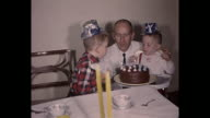 1961 Home Movie - Birthday party for two year old boy