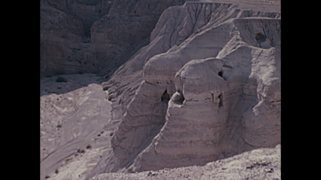 1969 Home Movie Israel - Scrolls Cave #4