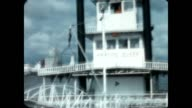 Home movie of ride on Memphis Queen on approach to Memphis for a tour