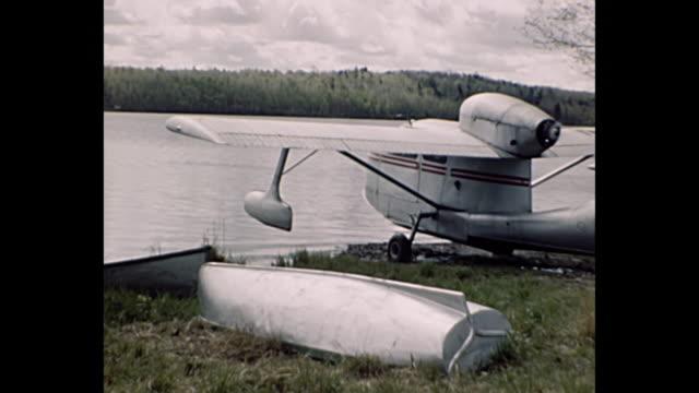 1955 Home Movie - Seaplane