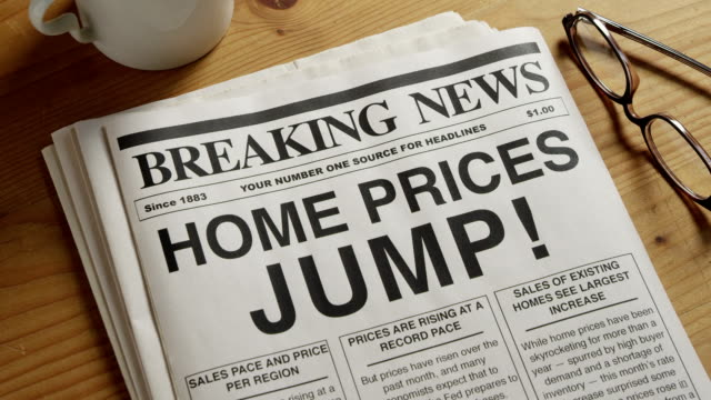 Home Prices Increase