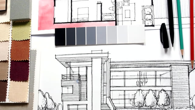 Home Renovation Improvement Concept Stock Footage Video
