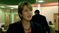 Home Secretary Jacqui Smith visits Croxteth in Liverpool Jacqui Smith MP interview SOT Explains why she is visiting Croxteth because there is good...