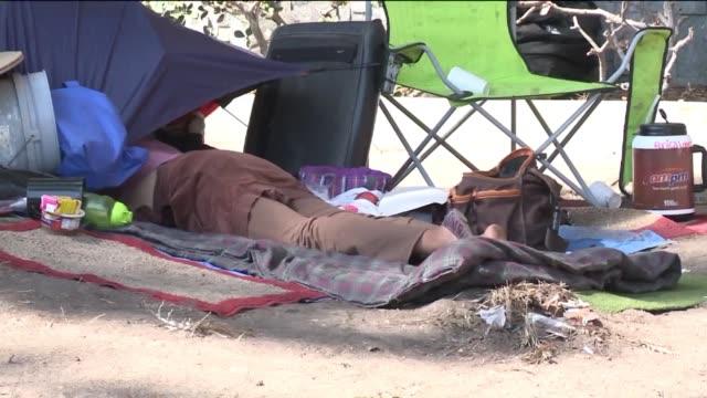 KTLA Homeless People On The Street