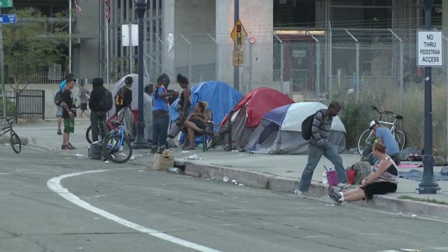 KSWB Homeless People On The Streets
