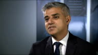 Boris Johnson says immigrants partly to blame for rise in rough sleepers in London INT Sadiq Khan MP interview SOT