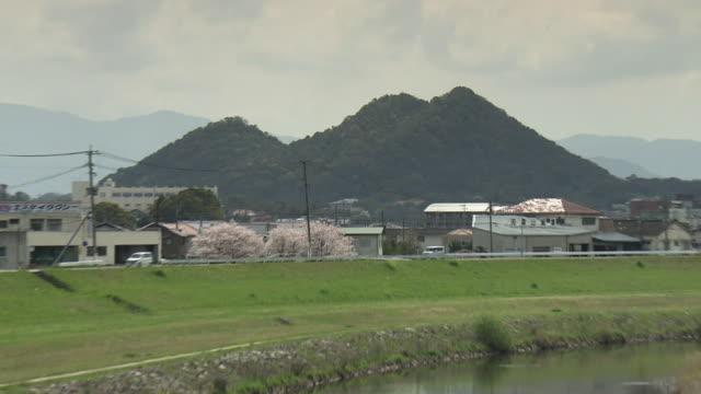 Honami River And Spoil Tip, Fukuoka, Japan