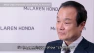 Honda Motor CoLtd President Chief Executive Officer and Representative Director Takanobu Ito is interviewed at the Honda Motor Co headquarters on...