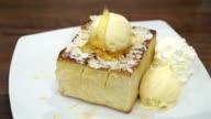 Honey toast bread