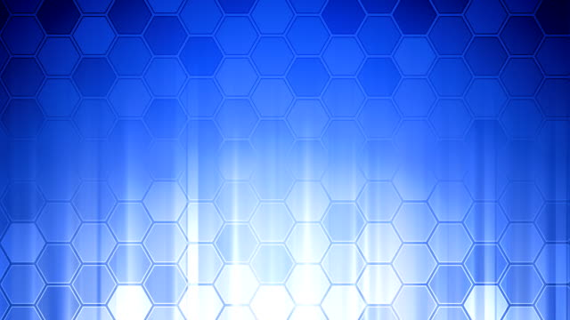 Honeycomb Wall Blue