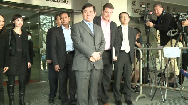 Hong Kong billionaire brothers Thomas and Raymond Kwok two of Asias wealthiest men plead not guilty to corruption charges in the southern Chinese...