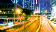TIME LAPSE - Hong Kong Central Traffic
