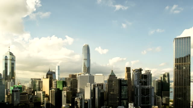 Hong Kong giorno alla notte, Time Lapse video HD