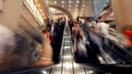 Hong Kong Aufzug Zeitraffer
