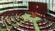 Hong Kong lawmakers make impassioned speeches as they go into day two of a marathon debate ahead of a key vote that pits democracy campaigners...