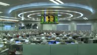 Hong Kong shares tumbled 243 percent by the break Monday as poll defeats for the ruling parties in France and Greece raised concerns over austerity...