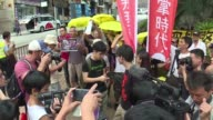 Hong Kong student leader Joshua Wong and another prominent young pro democracy activist are charged over an anti China protest last year in what they...