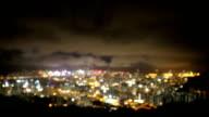 HD VDO : Hongkong city at night