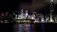 Hongkong Skyline with cruiser ship