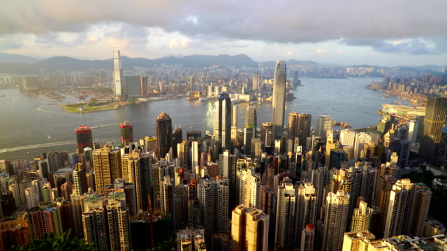 Hong Kong Wolkenkratzer