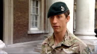 Honours handed out for acts of gallantry Sgt Deacon Cutterham interview SOT Out on patol Moved into vulnerable area Took a left back towards check...