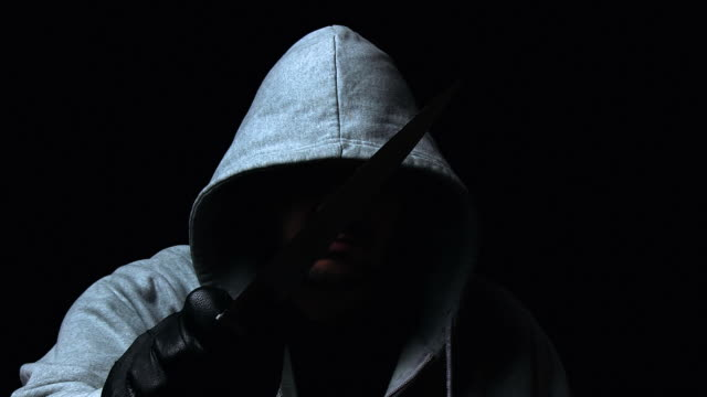 Hooded killer