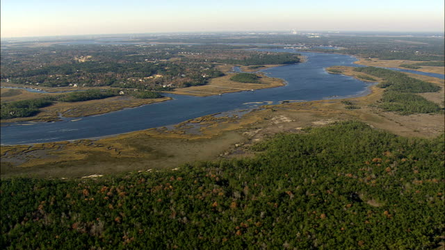 horlbeck creek - Aerial View - South Carolina,  Charleston County,  United States