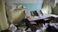 A hospital is destroyed where the proRussians and Ukrainian military fought a major battle in July Semyonovka was heavily damaged in a battle between...