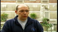 Survey causes alarm Professor Kevin MackwayJones interview SOT Situation is chaotic discusses triage