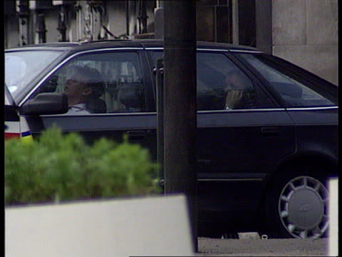 Gwent Newport TLMS Hostage Donald Stewart in front seat gunman in back seat MS Stewart in front seat gunman in back seat speaking to local radio 'Red...