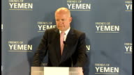 UK hosts 'Friends of Yemen' conference in London Asked if a Yemeni style transition is possible in Syria SOT Hague answer SOT Talks of discussions he...