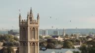 Hot Air Balloons crossing the skyline (Bristol) 3