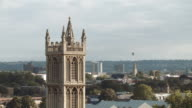 Hot Air Balloons crossing the skyline (Bristol) 4